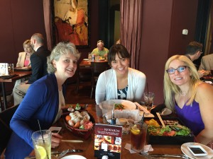 Ladies' day out - a sushi lunch to celebrate mama's & Auntie Susan's birthdays!