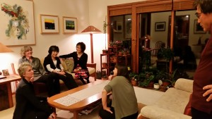 A post-dinner hang with the incomparable Miss Nobuko Imai