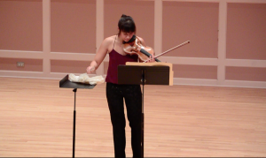 """Performing Heitzeg's """"Stone (Save the Boundary Waters)"""""""