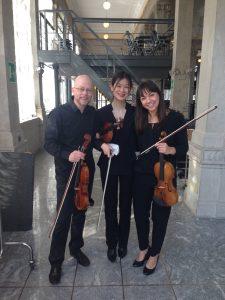 Pre-concert with friends Sofie and Jozek...prima del concerto con amici Sofie e Jozek...