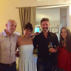 Post-concert with friends - Dopo il concerto con amici