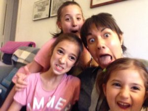 My sweet cousins in Florence! Le mie cugine a Firenze!