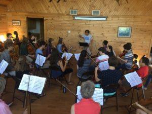 Rehearsals @ NLCMI - Le prove al festival in Minnesota