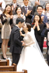 Seung-An and Jee-Eun's wedding in Seoul!