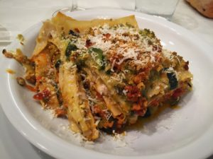 "Homemade lasagne by one of my Italian ""mamas,"" Giusy Barbieri =)"
